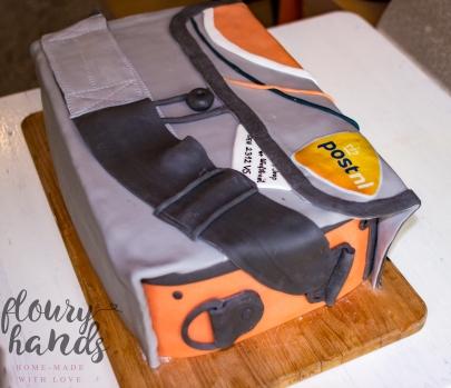 postnl tas taart bag cake