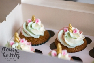unicorn cupcakes with tricolour buttercream 2