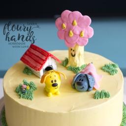 Woezel en Pip cake taart
