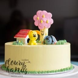Woezel en Pip cake 3 taart