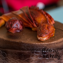 Dungeons and dragons cake 3