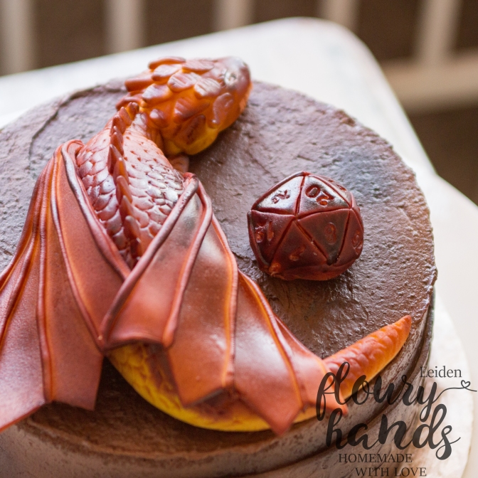 Dungeons and dragons cake 4