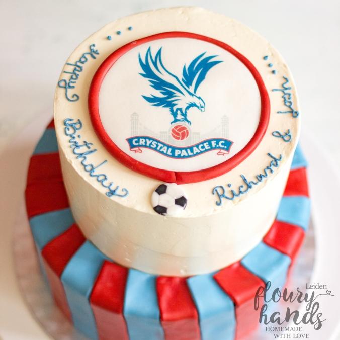 crystal palace birthday cake
