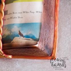 white fang book cake