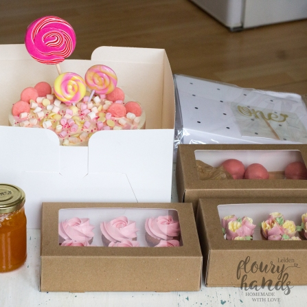 treats for girl first birthday pink